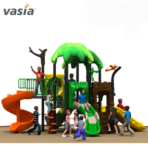 Natural Lovely High Quality Play Slide Patio trasero Playscape Equipment
