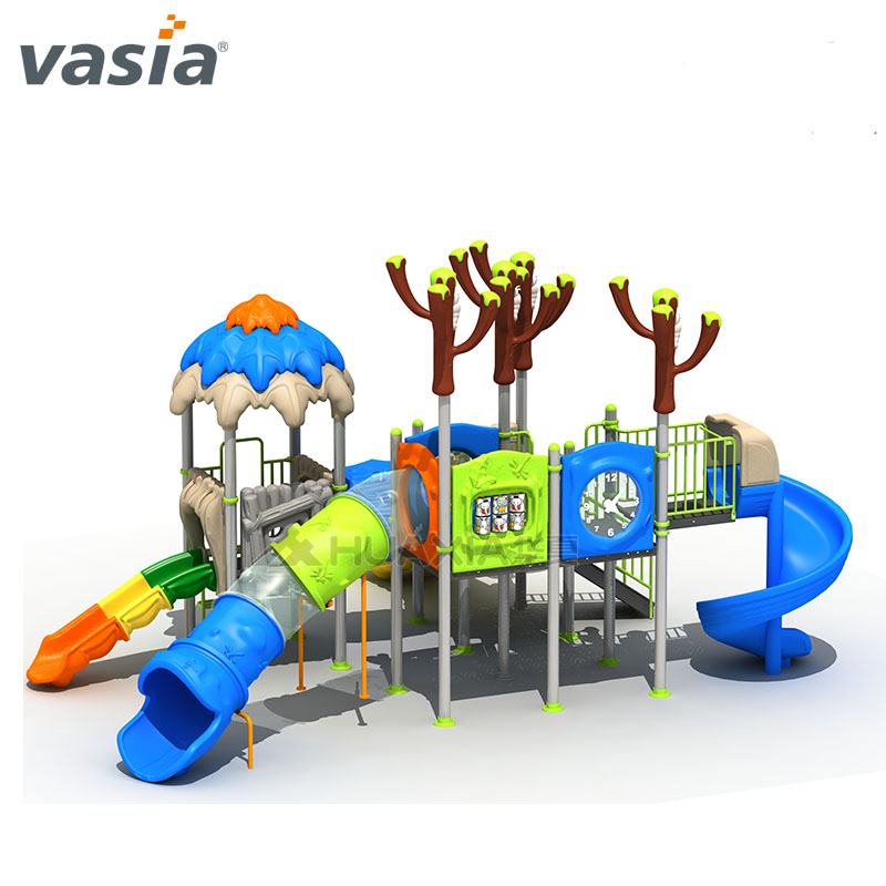 Perfect Color Kids Lovely Outdoor Play Slide Niño Uso escolar Equipo de juegos infantiles