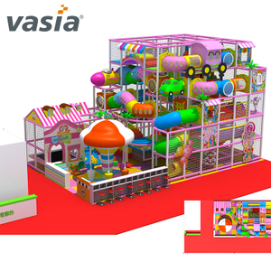 La mejor fiesta de cumpleaños de Foam Fancy Soft Indoor Playground para Indoor Play Center